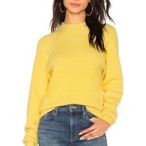 Free People Lemon Pop To Good Sweater Size XS